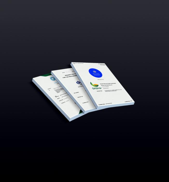 Tender document service